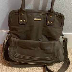 Never used Timi&Leslie leather diaper bag